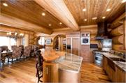 Colorado Log Home Interior