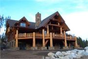 Colorado Log Home South View
